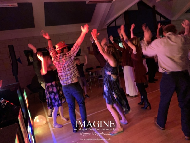 Wendy & Malcolm's Ruby Wedding Party