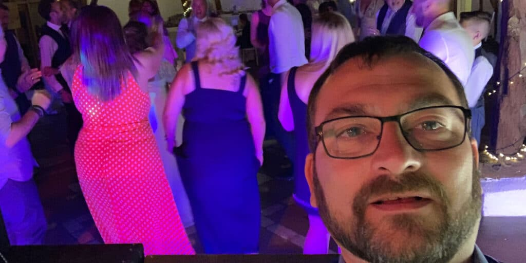 Wedding DJ Wayne Braybrook