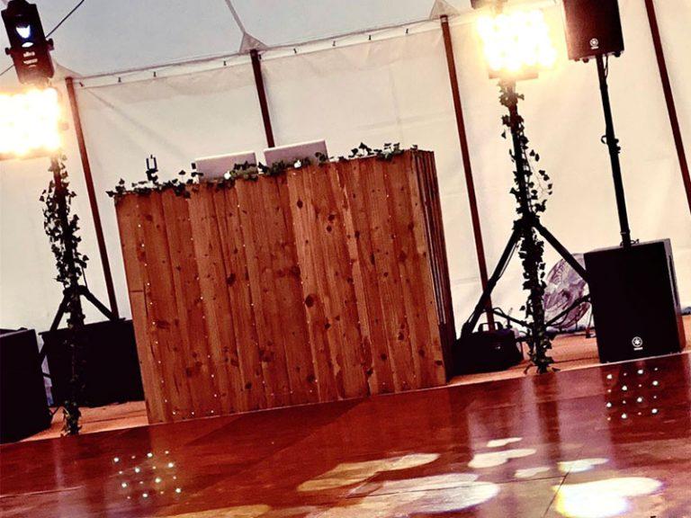 Rustic wedding disco in Cambridgeshire, Norfolk & Suffolk