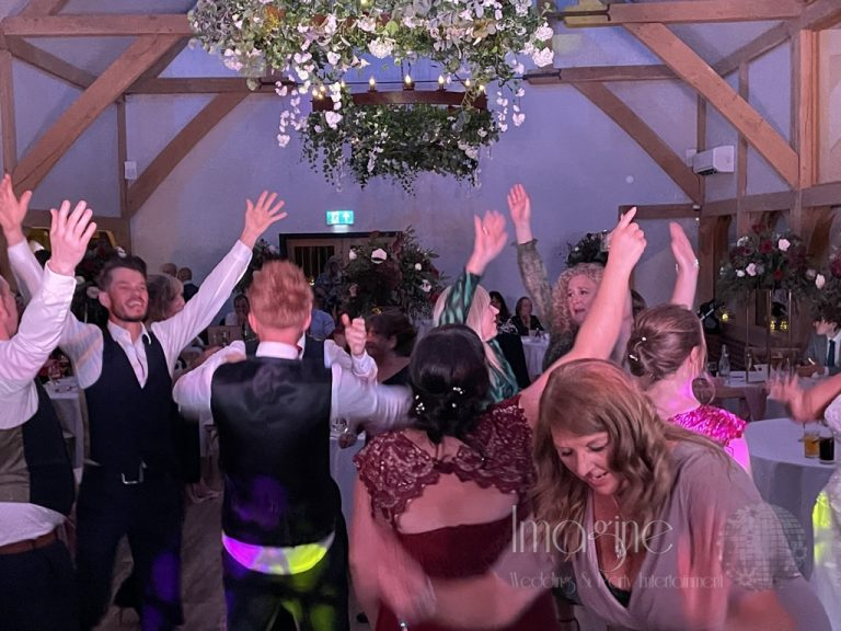 Zoe & Luke's special evening at Sissons Barn